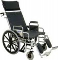 Bariatric Recliner Wheelchair w/ Removable Arms